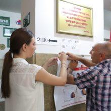 Po karo dėl Kalnų Karabacho Armėnijoje vyksta pirmalaikiai parlamento rinkimai