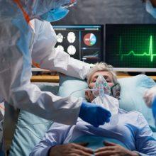 PSO: naujų COVID-19 atvejų ir mirčių dėl šios ligos šią savaitę užfiksuota daugiau