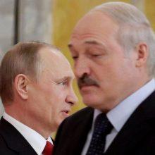 V. Putinas ragina A. Lukašenką pradėti dialogą su piliečiais