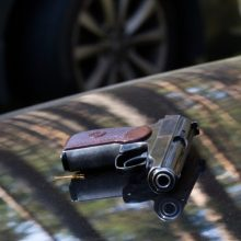 "Dviejų ""Audi A6"" automobilių akistata – kelyje įvyko šaudynės"