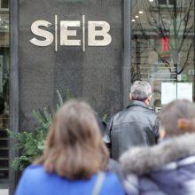 Įspėjimas vartotojams: savaitgalio naktį galimi SEB banko sutrikimai