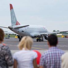 Liepą fiksuotas didžiausias Lietuvos istorijoje skrydžių skaičius per dieną
