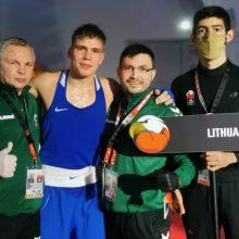 Pasaulio jaunimo bokso čempionate lietuviams nepavyko iškovoti medalių