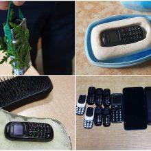 Laisvės atėmimo įstaigose rasta per 100 mobiliųjų telefonų: slėpė batuose, bulvėse