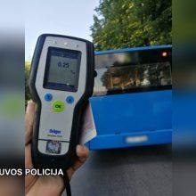 """Dar vienas pareigūnų """"laimikis"""" Klaipėdoje: sulaikytas girtas autobuso vairuotojas"""