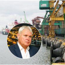 Klaipėdos meras apie uosto plėtrą: visi planai turi būti atsakingai derinami su miestu