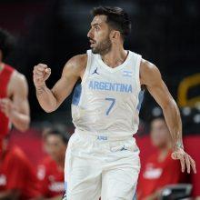 Argentina nugalėjo Japoniją ir žengė į olimpinio krepšinio turnyro ketvirtfinalį