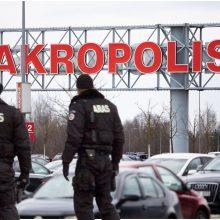 """Vilniuje evakuotas """"Akropolis"""": melagingai pranešta apie užminuotą pastatą"""