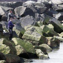 Žvejai rizikuoja dėl strimelių: nepaiso įspėjamųjų ženklų