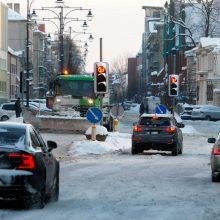 Klaipėdiečių laukia ekstremalūs išbandymai: gatvės virs čiuožykla