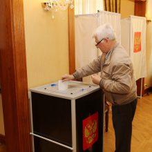 Rusijos piliečių pilietinė pareiga: Dūmos rinkimai – ir Klaipėdoje