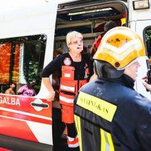 Nelaimė Šalčininkų rajone: užsidegus drabužiams nukentėjo vyras