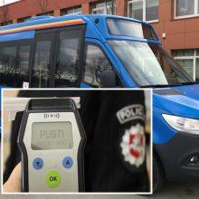 Klaipėdoje autobusą vairavo visiškai girtas vairuotojas