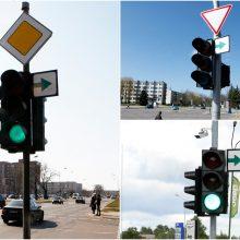 Nauja tvarka uostamiesčio keliuose įneš painiavos?