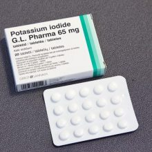 Sostinėje jodo tablečių dalijimas pratęstas iki gruodžio 17 dienos