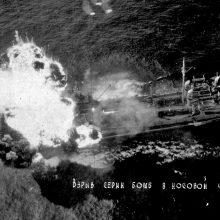 Vokietijos karo laivų grėsmė Baltijos jūrai