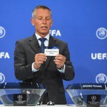 """UEFA Konferencijų lygos burtai: """"Sūduva"""" keliaus į Latviją, """"Kauno Žalgiris"""" – į Gibraltarą"""