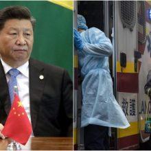Kinijos prezidentas: virusas plinta vis sparčiau, padėtis šalyje – sunki