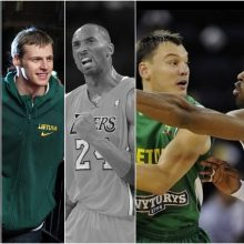 K. Bryanto žūtis pribloškė Lietuvos krepšininkus: sportininkai nenorėjo tuo tikėti