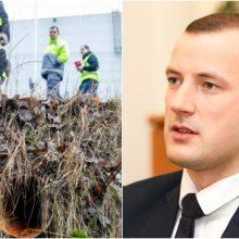 V. Sinkevičius imasi veiksmų: dėl taršos atvejų planuoja vykti į Klaipėdą