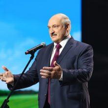 A. Lukašenka atmeta kaltinimus: prisiekiu jums, nebuvo jokio rinkimų klastojimo