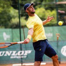 Vilniuje prasidėjo Lietuvos teniso čempionatas