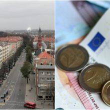 Pritarta planui Klaipėdai skolintis 14 mln. eurų