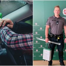 Sunkus girtumas – ne kliūtis: poilsiaujantis pareigūnas sulaikė neblaivų vairuotoją