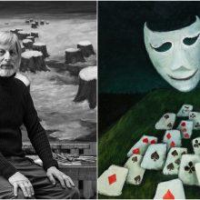 S. Glinskio tapyba: realistinės simbolistinės ir tapybos simbiozė