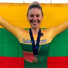 Tokijo olimpinėse žaidynėse dalyvaus dar viena lietuvė: startuos dviratininkė O. Baleišytė
