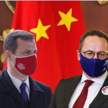 """Politikai nesutaria dėl Lietuvos strategijos Kinijos atžvilgiu: raginama """"tuščiai nešokinėti"""""""
