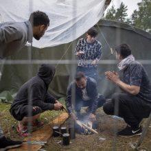 Migrantai bėga iš stovyklų: iki šiol paspruko 700 nelegalų, negrąžinta – daugiau nei 500