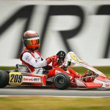 Pasaulio kartingo čempionate – du lietuviai