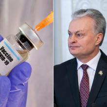 G. Nausėda: ES turėtų siekti, kad iki vasaros būtų vakcinuota 70 proc. žmonių