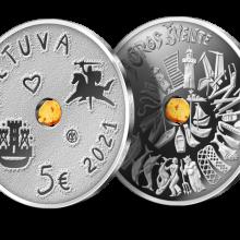 Išleidžiamos naujos Jūros šventei skirtos monetos