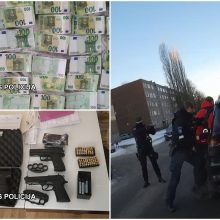 Plataus masto sulaikymas: Klaipėdos kriminalistai užkirto kelią kelioms grupuotėms
