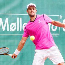 L. Grigelis baigia profesionalaus tenisininko karjerą