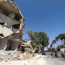 Rusija informuos JT Saugumo Tarybą apie padėtį Sirijos Idlibe