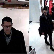 Pareigūnai vagystės tyrime prašo pagalbos: gal atpažįstate šį vyrą?