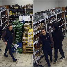 Alkoholio butelį Alytuje pavogę jaunuoliai surasti per kelias valandas