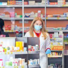 Vaistininkų ir pardavėjų patikra Klaipėdoje: sergančiųjų nenustatyta