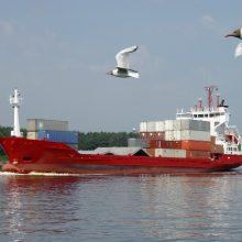 Dėl visuotinio karantino jūrininkams kyla sunkumų