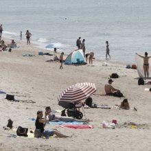 Dėl vandens užterštumo Smiltynėje – klausimai