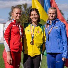 Lietuvos atletams – visų spalvų medaliai