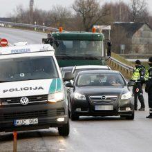 Pokyčiai: policijos patikros galima tikėtis tolėliau nuo Klaipėdos