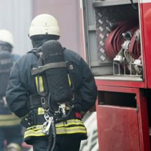 Per gaisrą Telšių rajone žuvo du žmonės