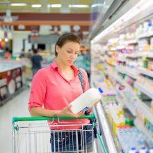 Pigesnių kasdienių maisto prekių nuperkama vis daugiau
