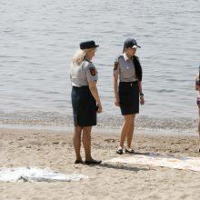 Policijos pajūryje laukia kitokia vasara: daugiau dėmesio skirs paplūdimiams