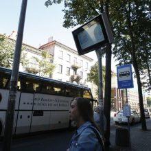 Klaipėdoje atsiras naujos viešojo transporto švieslentės