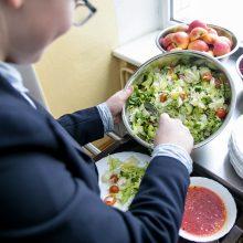 Mokyklos Estijoje kasmet išmeta beveik 1400 tonų maisto